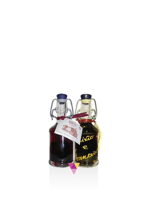Mignon di Mirto di Sardegna - San Martino - Fabbrica Liquori Artigianali