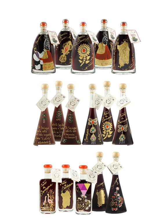 Mirto dipinto a mano - San Martino - Fabbrica Liquori Artigianali