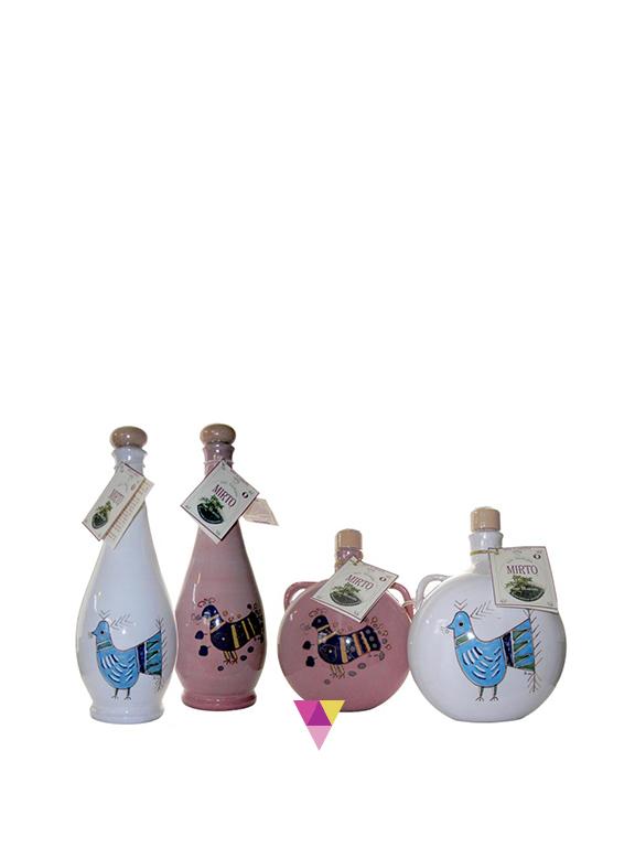 Mirto rosso in ceramica - San Martino - Fabbrica Liquori Artigianali