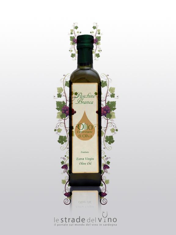 Olio Extra Vergine D'Oliva 500 - Oleificio Paschino Branca