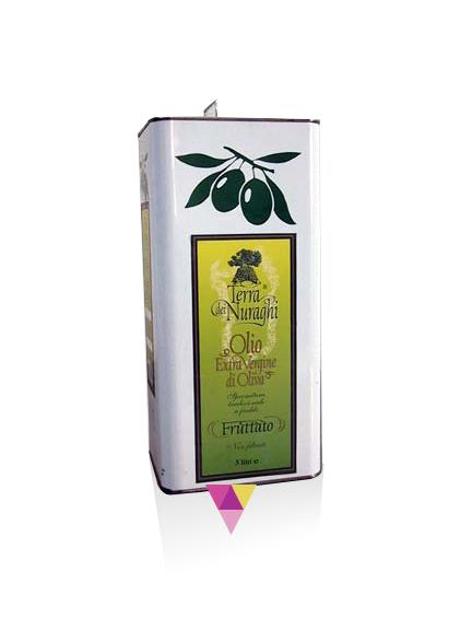 Oleificio Podda Terra dei Nuraghi - Olio Tanica 3 litri