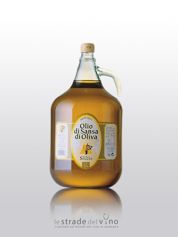 Oleificio Secchi - Olio di Sansa di Olive 5 litri