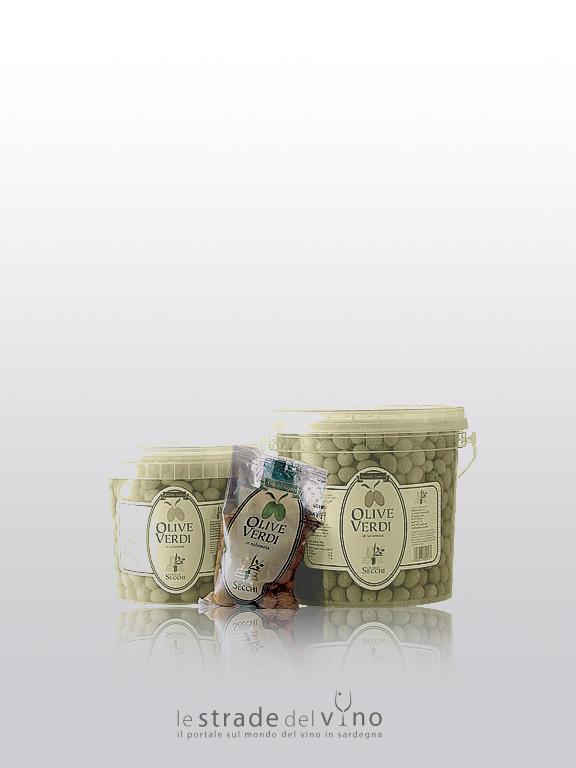 Oleificio Secchi - Olive in salamoia busta 50 01