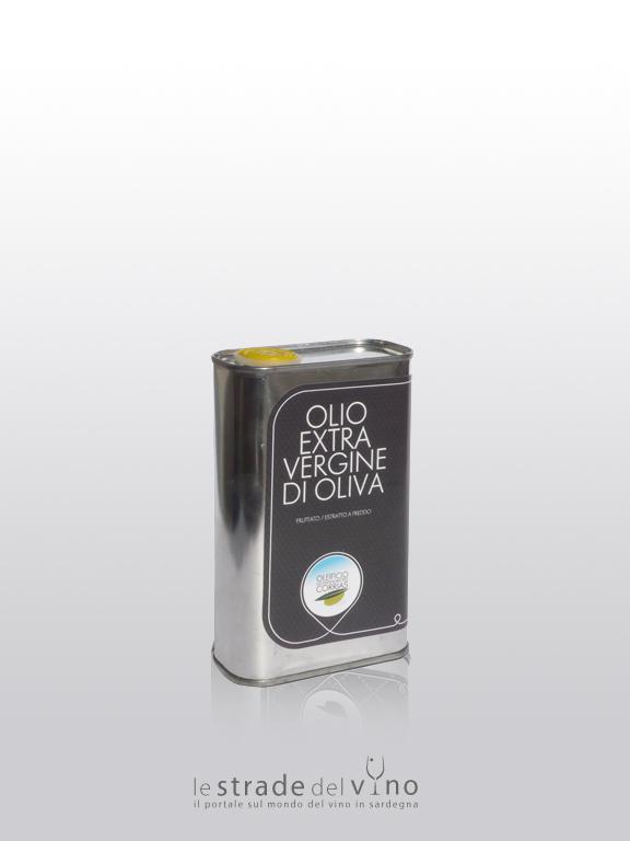 Olio Extra Vergine d'Oliva Lattina da 0.50 L - Oleificio Giovanni Matteo Corrias