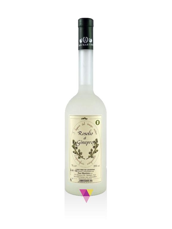Rosolio di Ginepro - San Martino - Fabbrica Liquori Artigianali