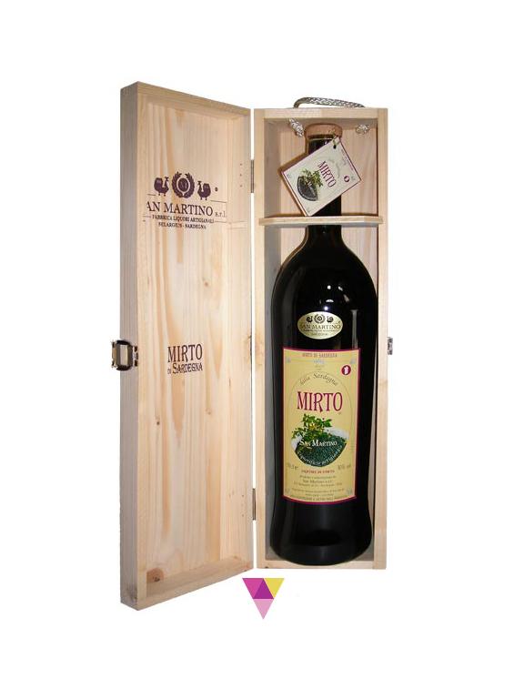 Magnum di mirto - San Martino - Fabbrica Liquori Artigianali