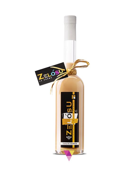 Liquore Crema di Liquirizia - Zelòsu
