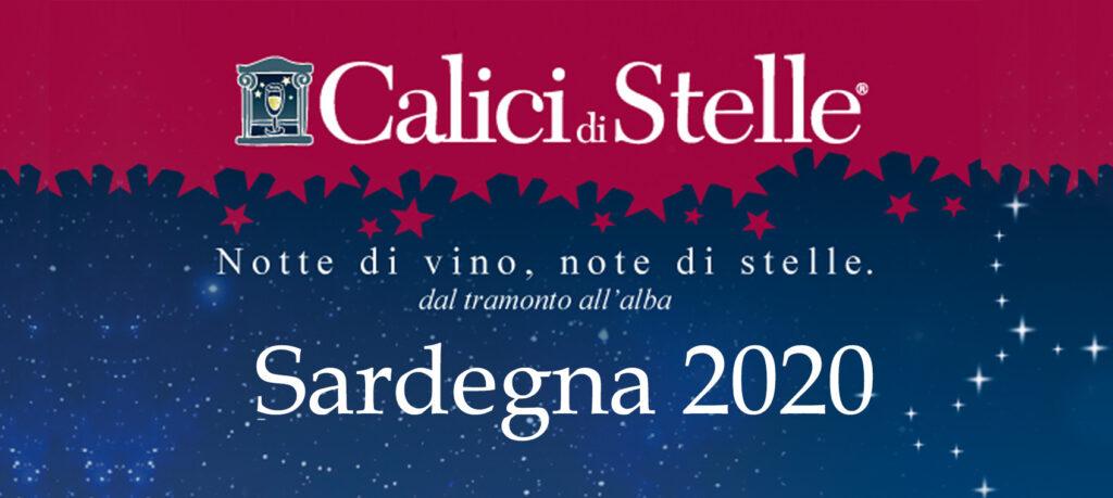 Logo Calici di Stelle 2020 Sardegna
