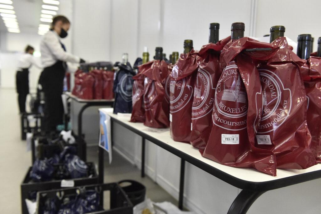Degustazione vini Concours Mondial Bruxelles