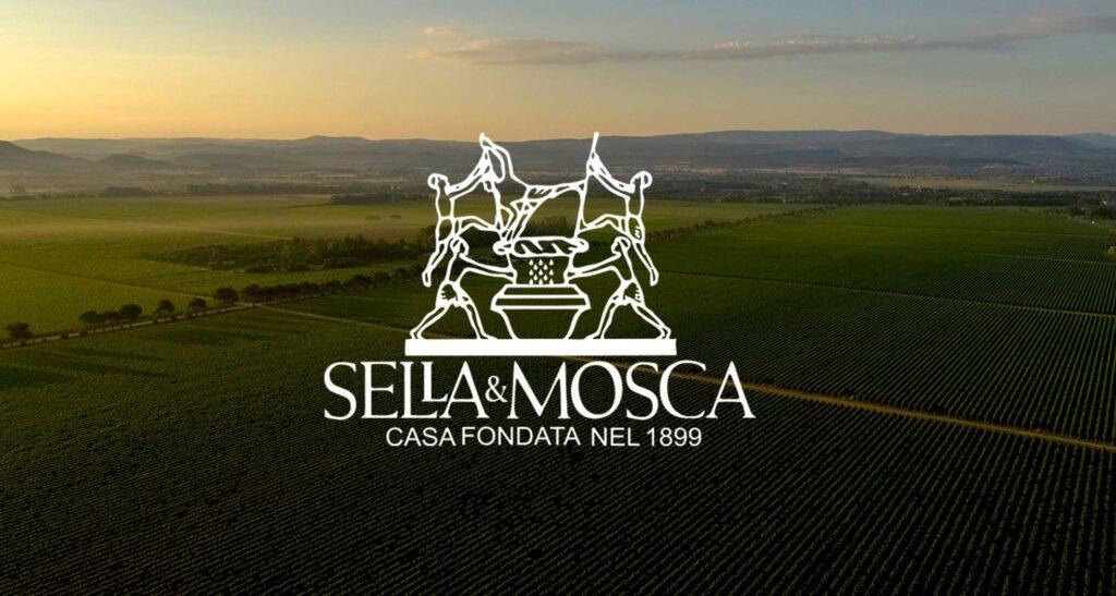 Vigneto e logo Sella&Mosca