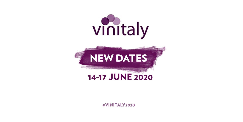 Nuove date Vinitaly 2020