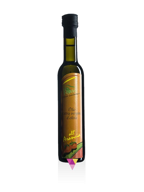 Arancia Aromatizzato Olio Extra Vergine di Oliva - Oleificio Pianura del Maestrale