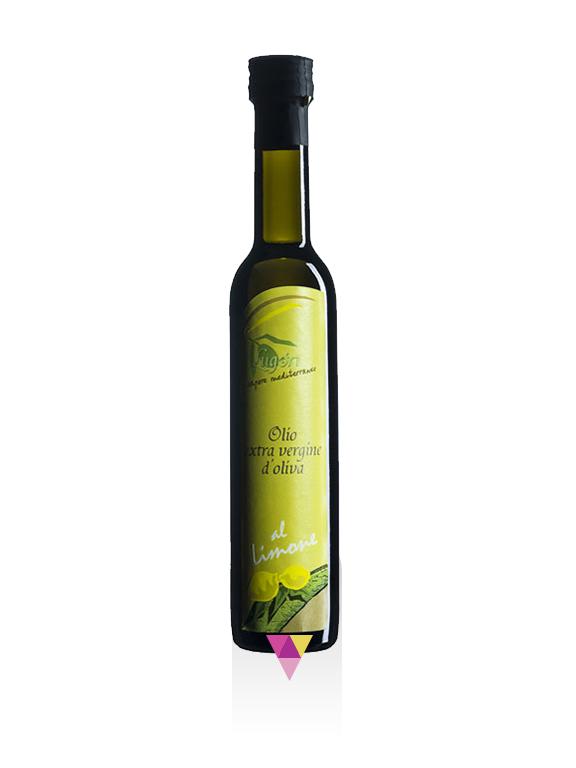 Limone Aromatizzato Olio Extra Vergine di Oliva - Oleificio Pianura del Maestrale