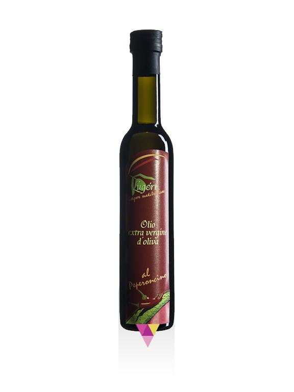 Peperoncino Aromatizzato Olio Extra Vergine di Oliva - Oleificio Pianura del Maestrale