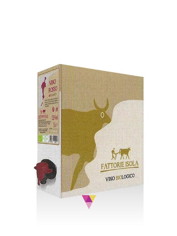 Bag In Box rosso - Fattorie Isola