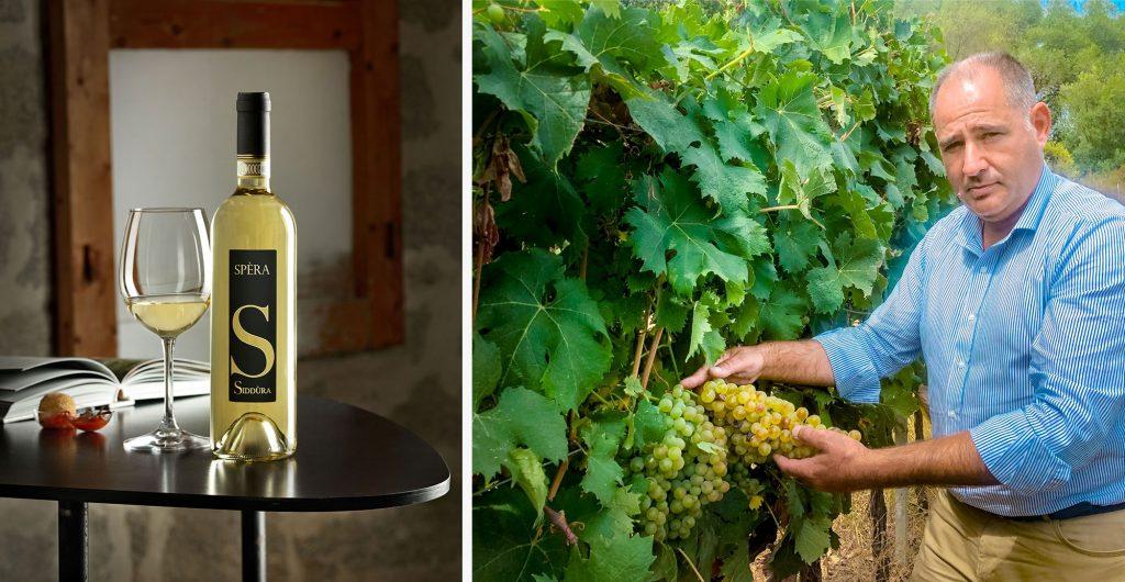 Massimo Ruggero e Spera vino di Siddura