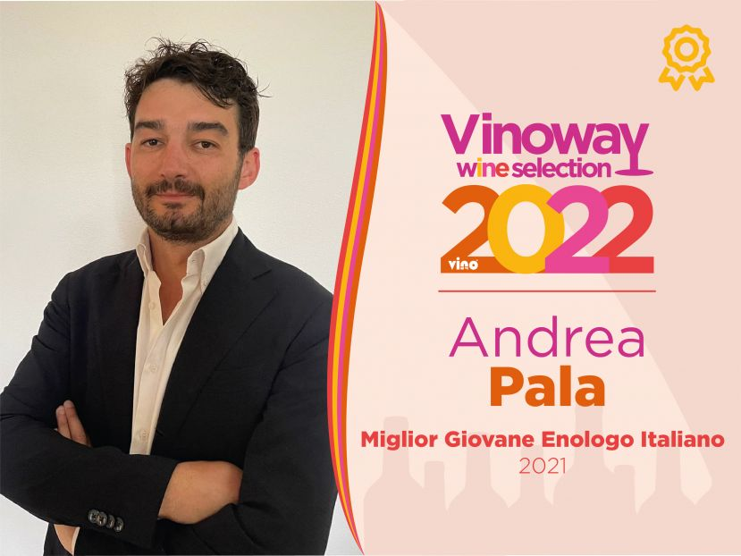 Andrea Pala Miglior Giovane enologo 2022